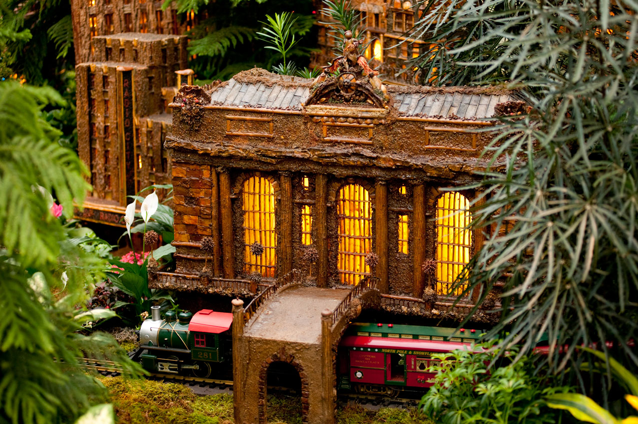 New York Botanical Garden Holiday Train Show - What To Do | What To Do