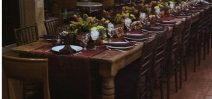 Chef Mark Krameru0027s Farm Table Dinner