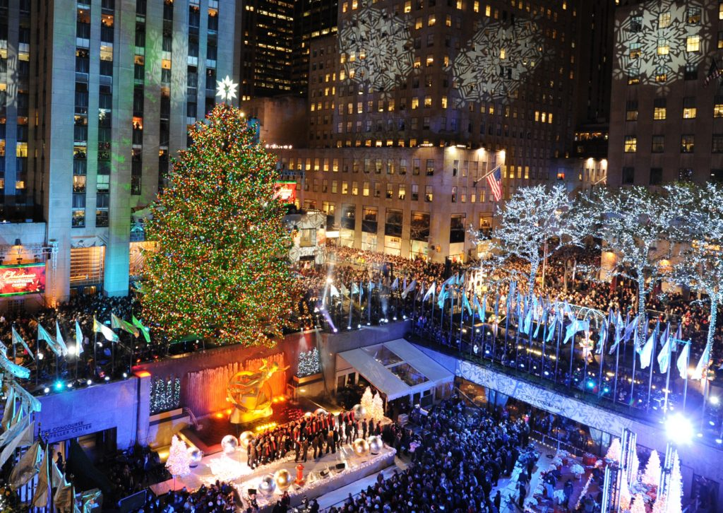 The Rockefeller Center Christmas Tree is Holiday Events 2016
