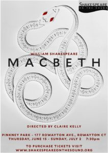 TDComedy_Macbeth_Shakespeare_on_the_sound Summer Theatre 2017