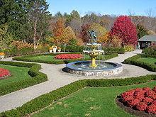 Lasdon_Park_and_Arboretum,_Memorial Garden  Bucket List: Glass House Conservatory at Lasdon Park & Arboretum