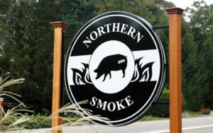 Northern Smoke BBQ in the Woods The Year in Food 2017