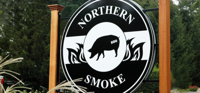 Northern Smoke BBQ in the Woods